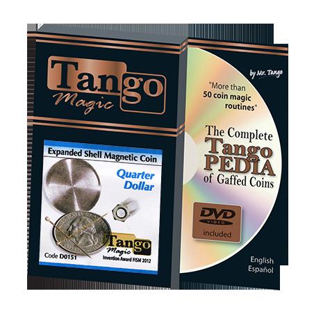 EXPANDED SHELL Quarter Magnetic - Tango wwww.magiedirecte.com