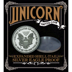 EXPANDED SHELL (Tail) - Unicorn Gaffed Coin wwww.magiedirecte.com