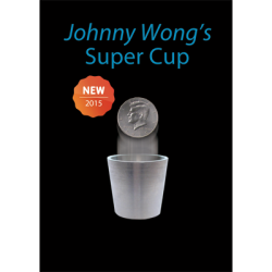 Super Cup ( Half Dollar) by Johnny Wong -(1 dvd and 1 cup) Trick wwww.magiedirecte.com