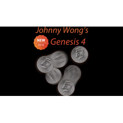 Johnny Wong's Genesis 4 (with DVD) by Johnny Wong - Trick wwww.magiedirecte.com