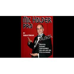 Pro Mic Holder (Noir) by Quique marduk - Trick wwww.magiedirecte.com