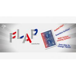 Modern Flap Card PHOENIX (Blue to Green to Red) by Hondo wwww.magiedirecte.com