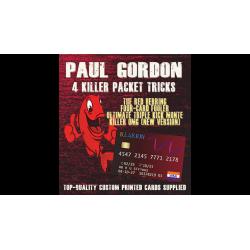Paul Gordon's 4 Killer Packet Tricks Vol. 1 - Trick wwww.magiedirecte.com