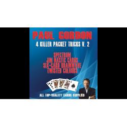 Paul Gordon's 4 Killer Packet Tricks Vol. 2 - Trick wwww.magiedirecte.com