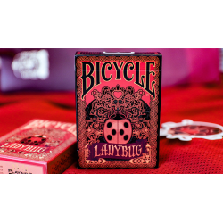 Limited Edition Bicycle Ladybug (Black) Playing Cards wwww.magiedirecte.com