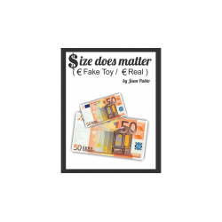 Size Does Matter EURO (Gimmicks and Online Instructions) by Juan Pablo Magic wwww.magiedirecte.com