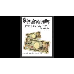 Size Does Matter J-YEN (Gimmicks and Online Instruction) by Juan Pablo Magic wwww.magiedirecte.com
