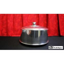 Dove Pan (alum) 7.5 inch by Mr. Magic - Trick wwww.magiedirecte.com