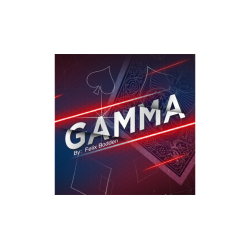 Gamma Red (Gimmick and Online Instructions) by Felix Bodden and Agus Tjiu - Trick wwww.magiedirecte.com