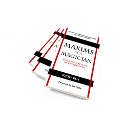 Maxims of a Magician by Richy Roy - Book wwww.magiedirecte.com