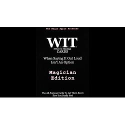 WIT Cards by Duppy Demetrius & Brent Geris - Trick wwww.magiedirecte.com