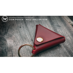 Limited Edition SansMinds Worker's Collection: Coin Pouch Red (Half Dollar Size) - Trick wwww.magiedirecte.com