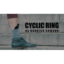 CYCLIC RING (Black Gimmick and Online Instructions) by Rodrigo Romano - Trick wwww.magiedirecte.com