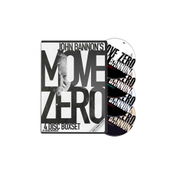 Move Zero (4 Volume Set) de John Bannon & Big Blind Media wwww.magiedirecte.com