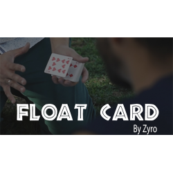 FLOAT CARD (Gimmicks and Online Instructions) by Aprendemagia - Trick wwww.magiedirecte.com