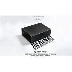 The Black Box (Gimmick and Online Instructions) by Wayne Dobson and Alan Wong - Trick wwww.magiedirecte.com