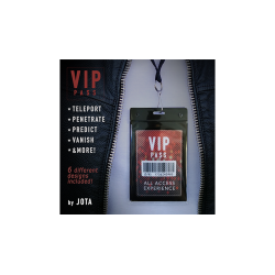 VIP PASS (Gimmick and Online Instructions) by JOTA - Trick wwww.magiedirecte.com