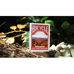Limited Edition Bicycle National Parks (Great Smoky Mountains) Playing Cards wwww.magiedirecte.com