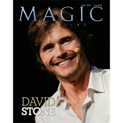 "Magic Magazine ""David Stone"" June 2015 wwww.magiedirecte.com"