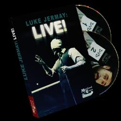 Luke Jermay LIVE! de Luke Jermay wwww.magiedirecte.com