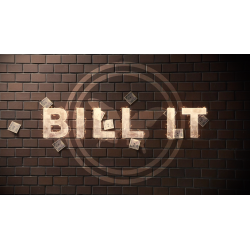 Bill It (DVD and Gimmick) by SansMinds Creative Lab - DVD wwww.magiedirecte.com