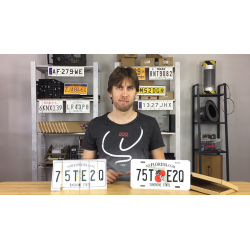 LICENSE PLATE PREDICTION - FLORIDA (Gimmicks and Online Instructions) by Martin Andersen - Trick wwww.magiedirecte.com