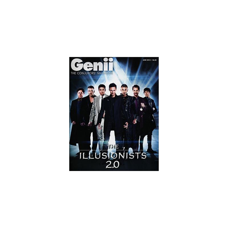 "Genii Magazine ""The Illusionists 2.0""  June 2014 wwww.magiedirecte.com"