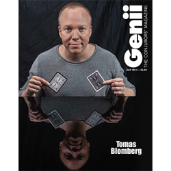 """Genii Magazine """"Thomas Blomberg"""" July 2015 wwww.magiedirecte.com"""