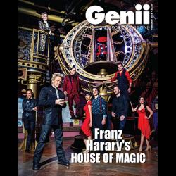 """Genii Magazine """"Franz Harary: House of Magic"""" February 2016 wwww.magiedirecte.com"""