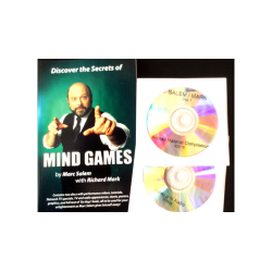 Discover the Secrets of MIND GAMES by Marc Salem with Richard Mark - Book wwww.magiedirecte.com