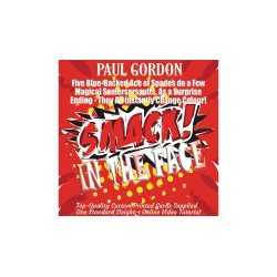 Smack! in the Face by Paul Gordon (gimmick and online instructions) - Trick wwww.magiedirecte.com