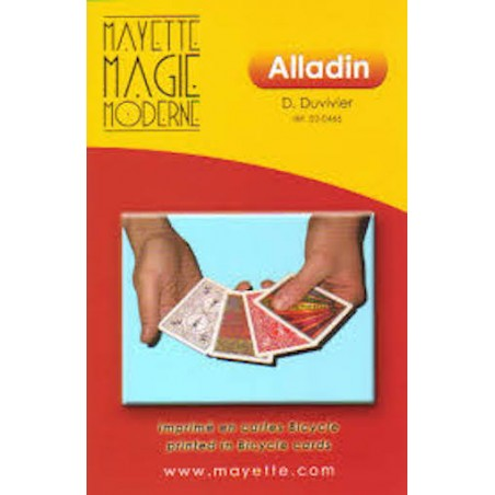 Alladin - Dominique Duvivier wwww.magiedirecte.com