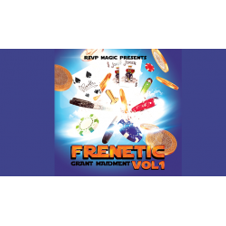 Frenetic Vol 1 de Grant Maidment & RSVP Magic wwww.magiedirecte.com