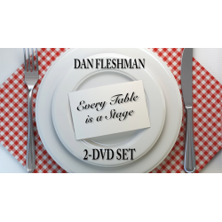 Every Table is a Stage (2-DVD Set) de Dan Fleshman wwww.magiedirecte.com