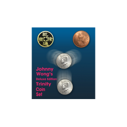 Deluxe Edition Trinity Coin Set (DVD) by Johnny Wong - Trick wwww.magiedirecte.com