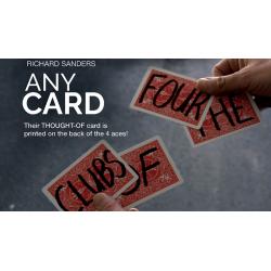 ANY CARD - Richard Sanders wwww.magiedirecte.com