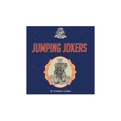 Jumping Jokers (gimmick and online instructions) by Stephen Tucker and Kaymar Magic - Trick wwww.magiedirecte.com