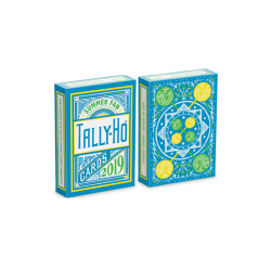 Tally Ho Fan Back Summer Cartes à Jouer wwww.magiedirecte.com