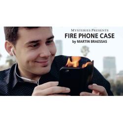 Fire Phone Case (Bigger) by Martin Brasses - Tour de Magie wwww.magiedirecte.com