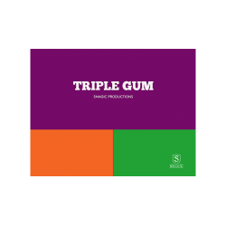 TRIPLE GUM by Smagic Productions - Trick wwww.magiedirecte.com