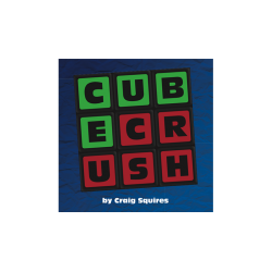 Cube Crush (Pack of 50) by Craig Squires - Trick wwww.magiedirecte.com