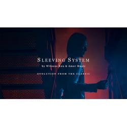 Sleeving System by Witness Kou & Amor Magic - Trick wwww.magiedirecte.com