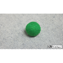 Crochet Ball .75 inch Single (Green) by Mr. Magic - Trick wwww.magiedirecte.com