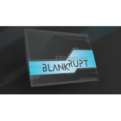 Blankrupt Thick Strip UK Version (Gimmicks and Online Instructions) by Josh Janousky - Trick wwww.magiedirecte.com