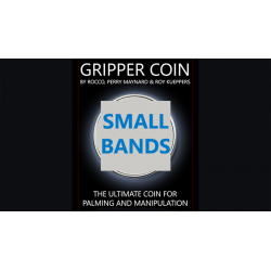 Gripper Coin Bands (Small) by Rocco Silano - Trick wwww.magiedirecte.com