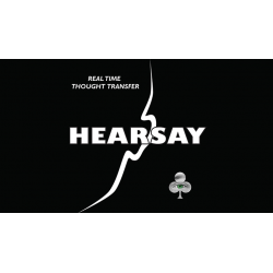 Hearsay by Ken Margoe - Trick wwww.magiedirecte.com