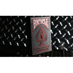 Bicycle Rider Back Crimson Luxe (Red) Version 2 wwww.magiedirecte.com