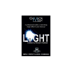 LIGHT (Gimmicks and Online Instruction) by Mickael Chatelain - trick wwww.magiedirecte.com