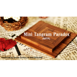Mini Tangram Paradox (MTP) (Gimmicks and Online Instruction) by Secret Factory wwww.magiedirecte.com