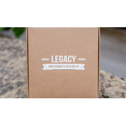 Legacy V2 (Gimmicks, Book and Online Instructions) by Jamie Badman and Colin Miller - Trick wwww.magiedirecte.com